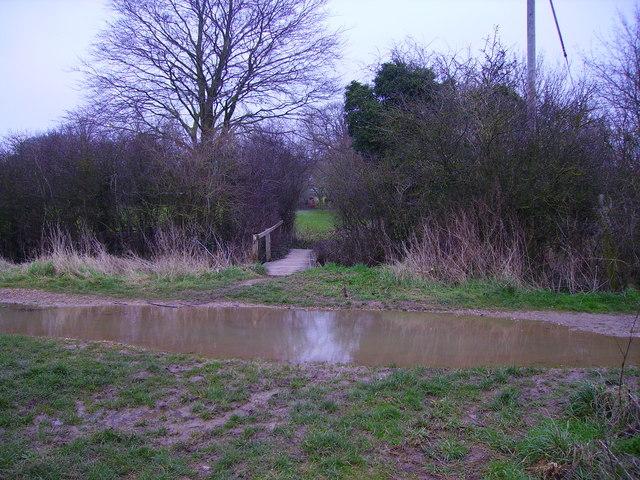 Barton Stacey - Footbridge