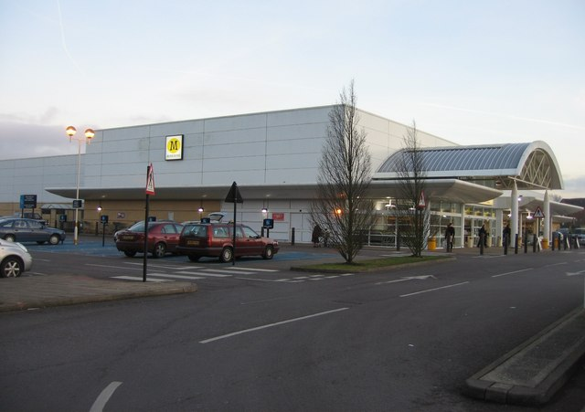 Morrisons - close to the town centre