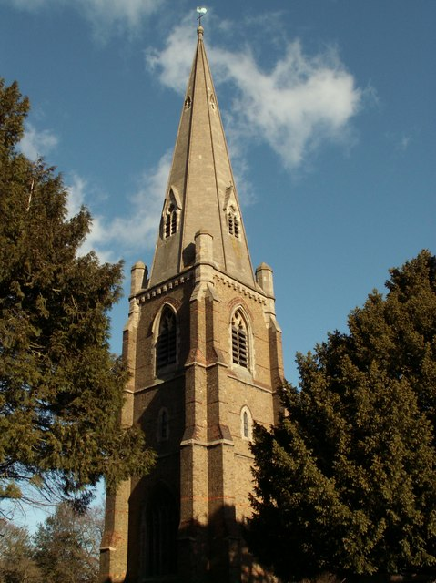 St. Michael & All Saints church at Galleywood Common