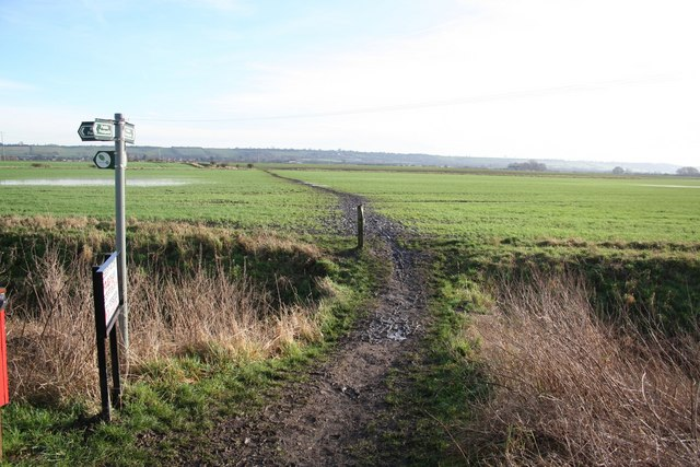 Footpath to Brant Road