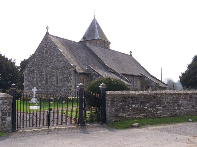 St Padarn Church, Llanbadarn Fawr (near Llandrindod Wells)