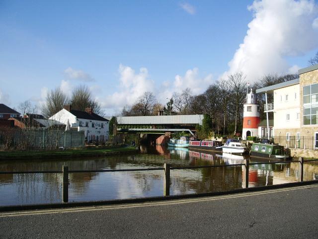 Bridgewater Canal at Monton