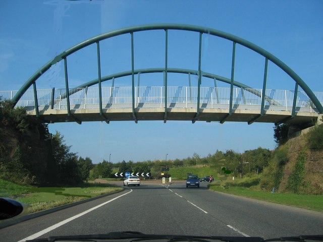 Bridge on Approach to Biddick Hall roundabout