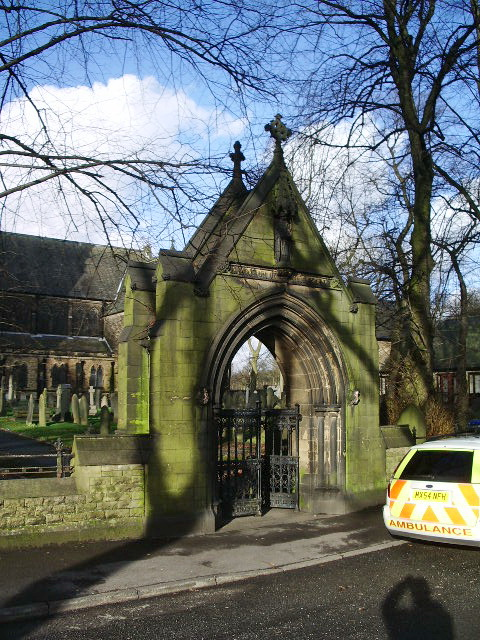 Unitarian Church, Monton, Lychgate