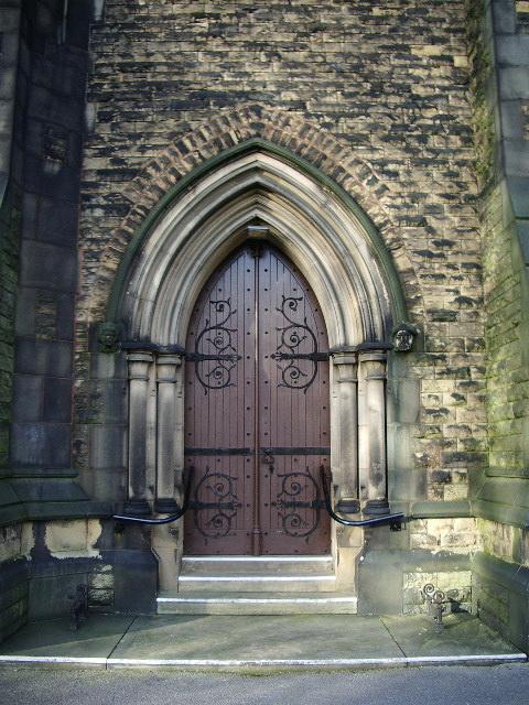 Unitarian Church, Monton, Doorway