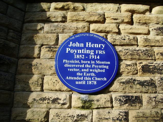 Unitarian Church, Monton, Blue plaque