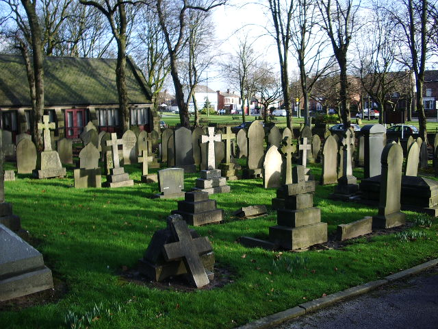 Unitarian Church, Monton, Graveyard