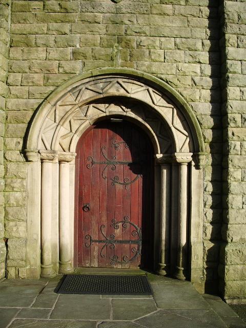 St John's Church, Pendlebury, Doorway