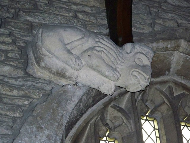 Lion Corbel, St George's Church