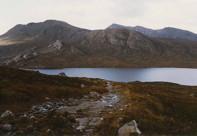 The summit of the Gleann Bianasdail path