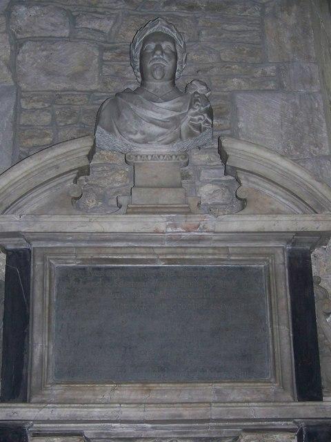 Memorial to Samuel Daniel (1562-1619)