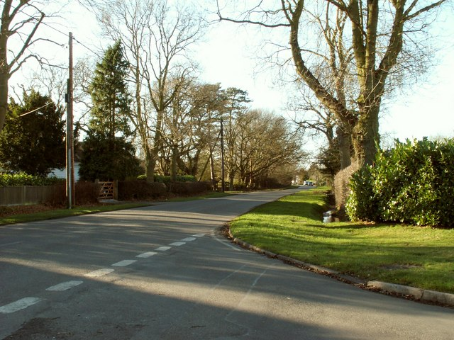 A view of Mill Road in Stock