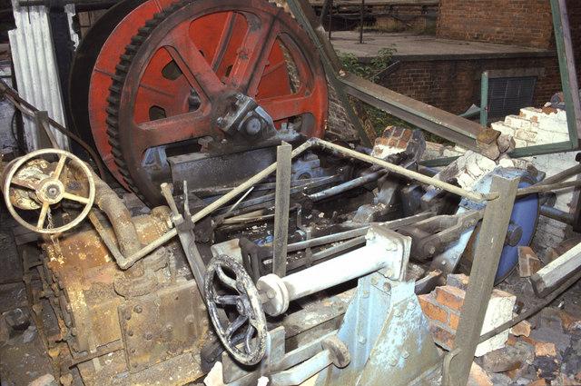 Capstan steam engine - Pleasley Colliery