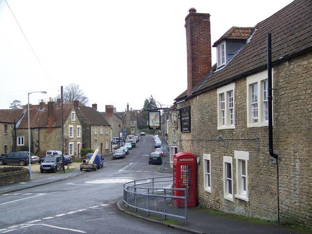 Street Scene, Beckington