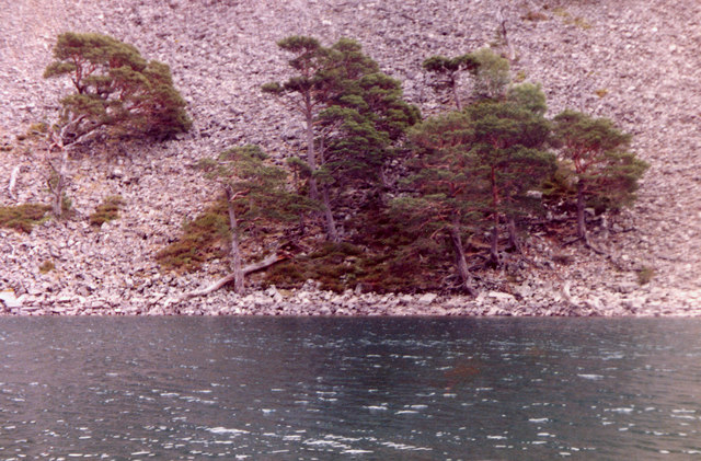 An Lochan Uaine, Ryvoan Pass