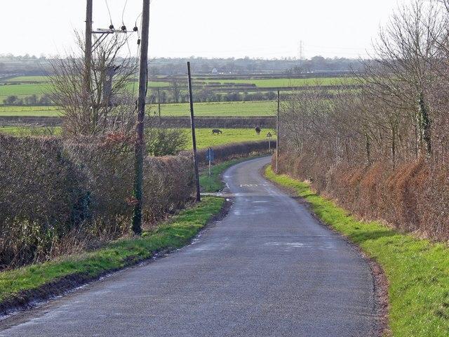 Earl Shilton Road near Thurlaston