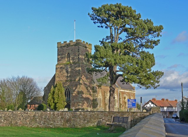 All Saints Church, Thurlaston