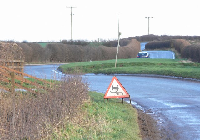 Enderby Road, east of Thurlaston