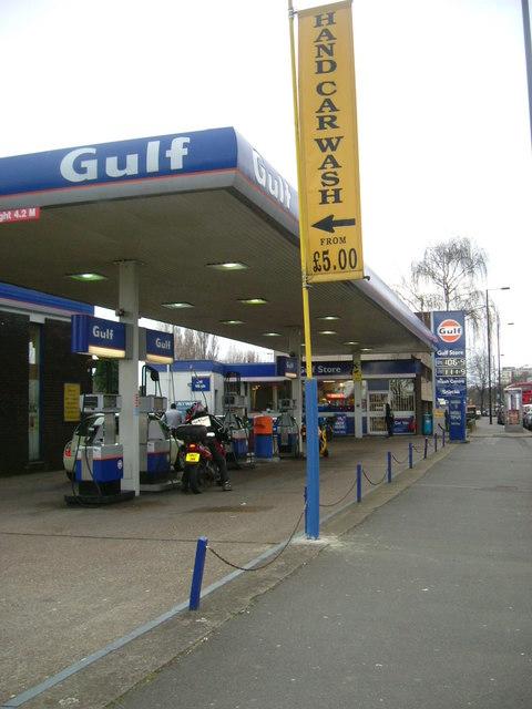 Du Cane Road - Petrol Station