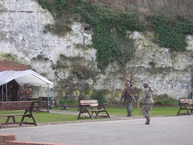 Battle Reconstruction at Fort Amherst, Chatham