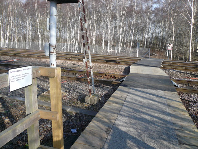 Potteric Carr Nature Reserve - Level Crossing