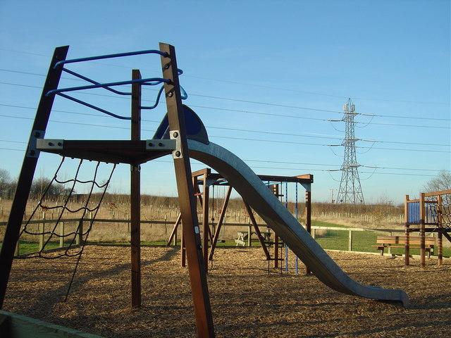 Play area, Newton Blossomville