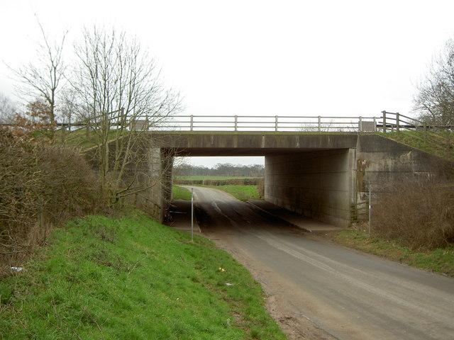 Motorway Bridge over Brimstage Lane