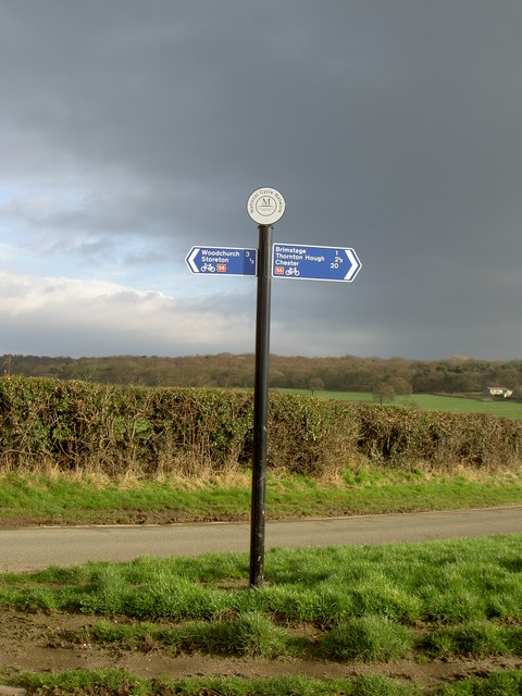 National Cycle Network Signpost.