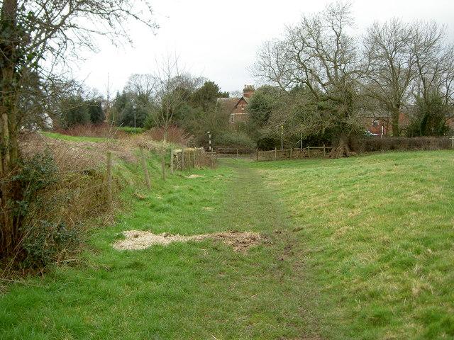 Footpath near Brimstage