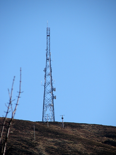 Communications Mast, Cow Hill, Fort William