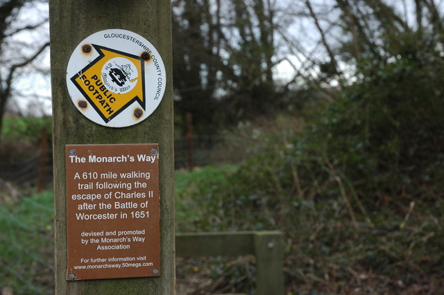 The Monarch's Way, near Hidcote Bartrim