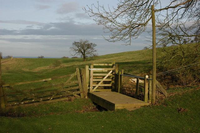 Footbridge at Hidcote Bartrim