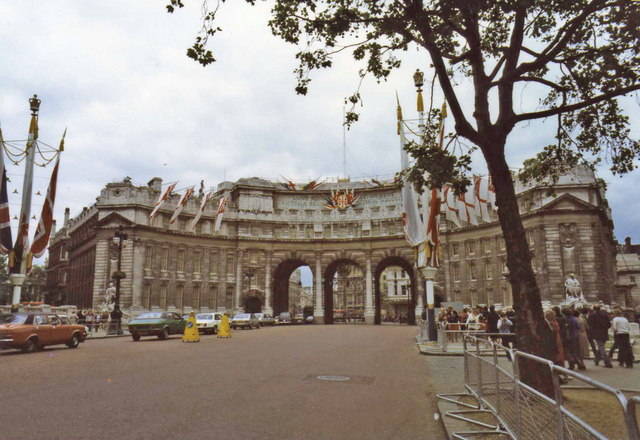 Admiralty Arch from the Mall, London SW1