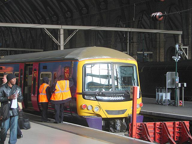 Arrival at King's Cross
