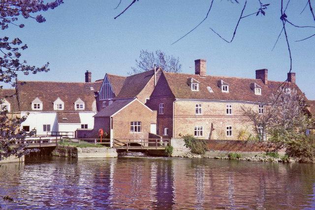Flatford Mill, East Bergholt,  Suffolk