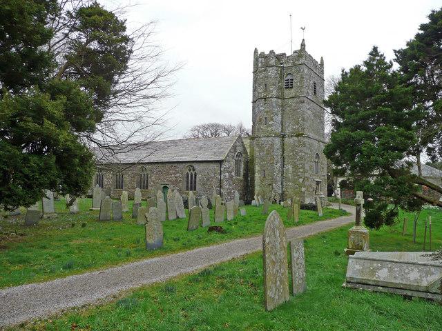 Parish church of St. Tetha, St Teath