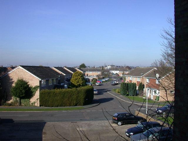 View along Ashvale