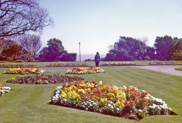 Spring planting at Frinton on Sea, Essex