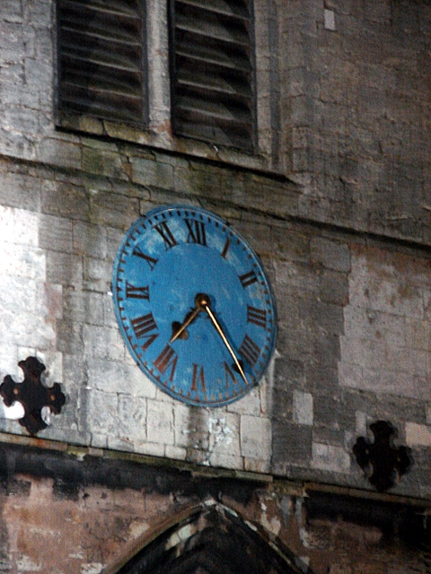 St Nicholas's Chapel clock