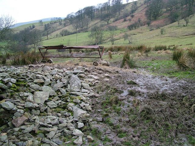 Sheep feeding station