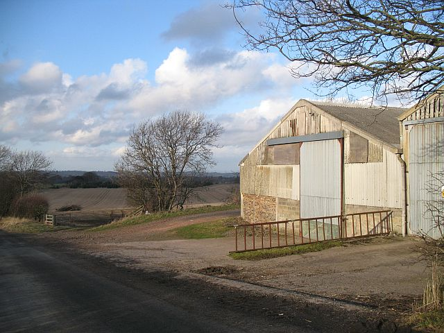 Old farm buildings, Whitburgh