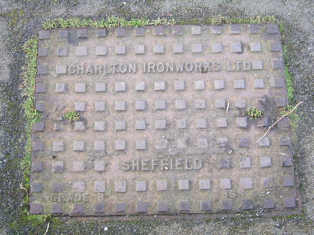 Charlton Ironworks Ltd. Sheffield, Manhole Cover