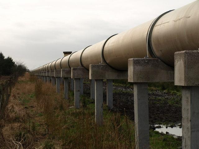 New pipe line, Shewalton