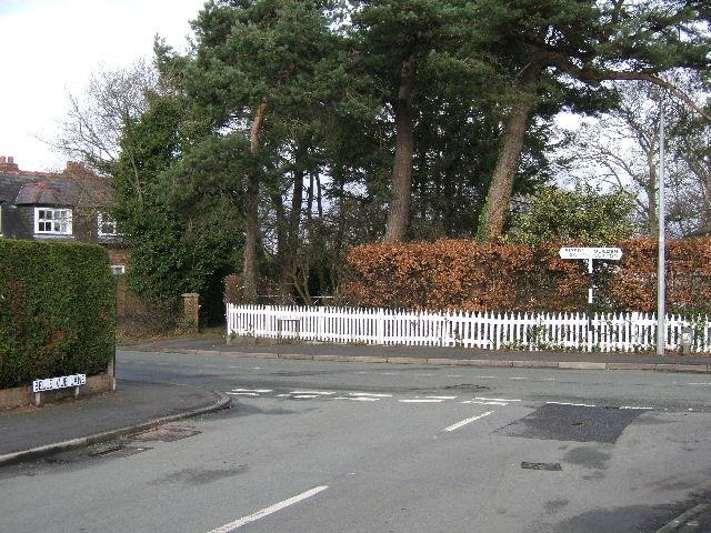 Junction of School Lane and Belle Vue Lane