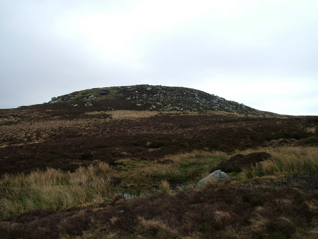 The 514m top near Low Greygrits