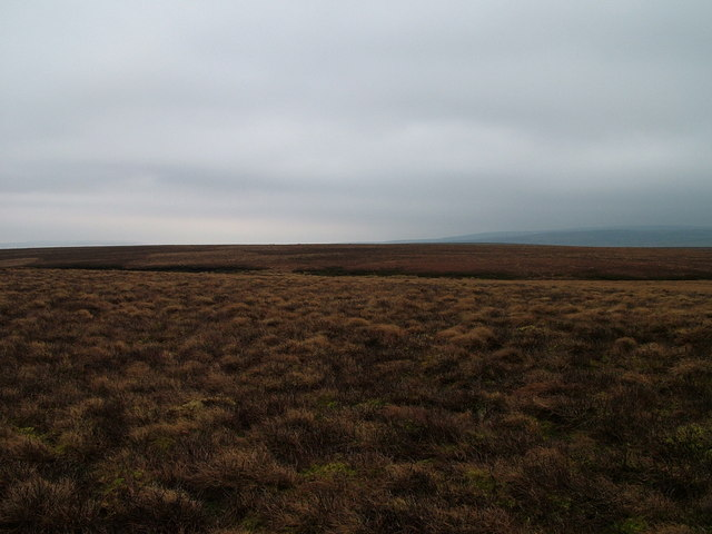 Across the moor to Great Black Hill