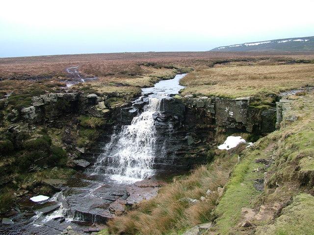 Waterfall on Ay Gill