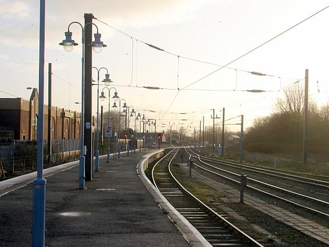 The view from King's Lynn Railway Station