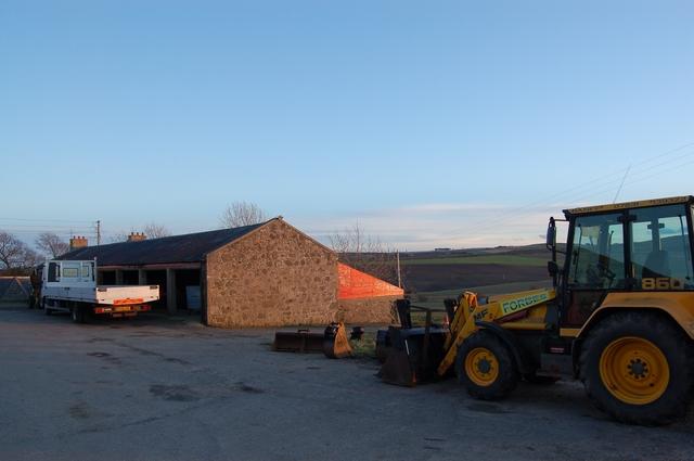 Farm buildings at Rettie
