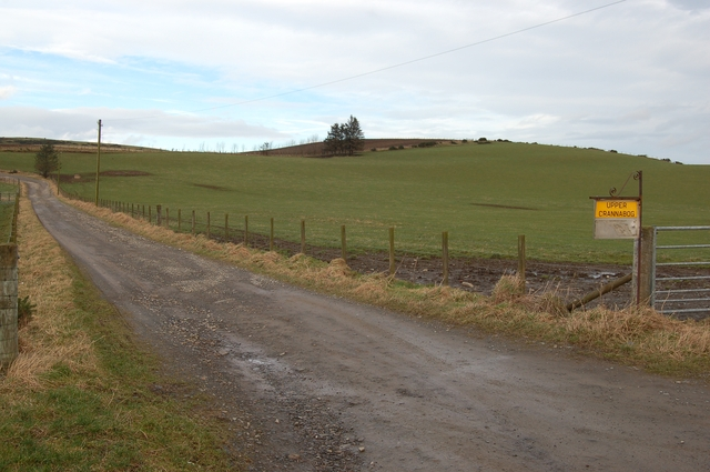 Road to Upper Crannabog Farm